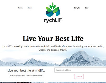 rychLIF WordPress Website Development