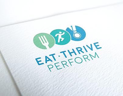 Eat Thrive Perform Logo Design