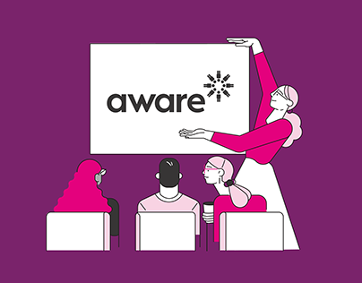 Aware Super - Rebrand Across all applications