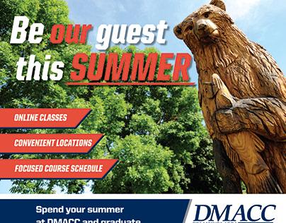 DMACC Summer ad