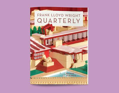 The Frank Lloyd Wright Quarterly, Winter 2015