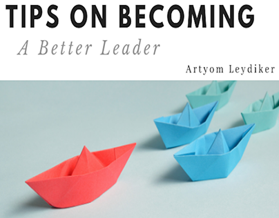 A Collection of Blogs about Leadership In Business.