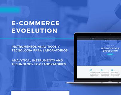 UI Design | Evoelution, E-commerce