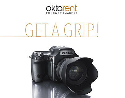 Get A Grip! (Promo Rent PENTAX 645Z) [Indonesia Only]