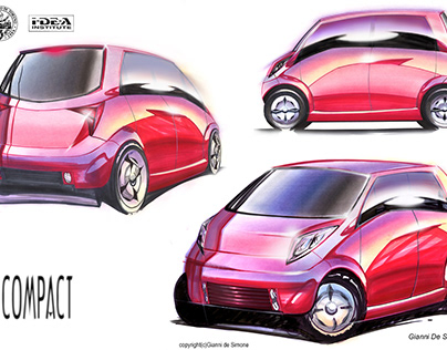 """Design per il volume esterno di una city car"" - TESI"