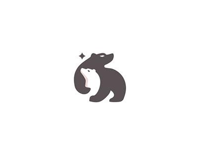 Negative Space Animals mark