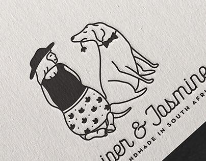 Juniper and Jasmine Logo Design