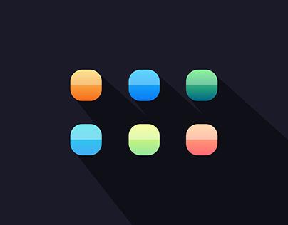 App Icons | Old School Skeuomorphic Style