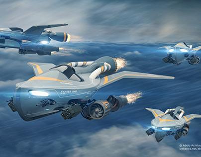 Sci-Fi Ship M-46
