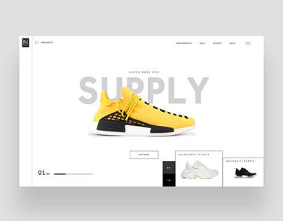 N1 Supply Ui Design