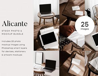 Alicante Photo & Mockup Bundle
