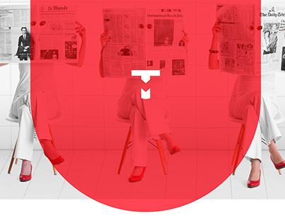 Taalbureau Maastricht :: Brand Identity and website