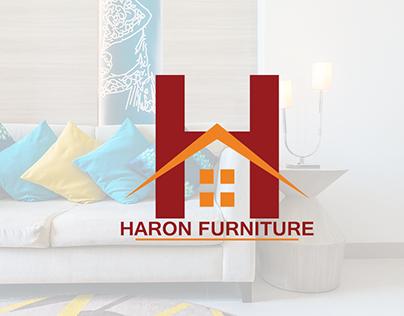 Haron Furniture Logo + Billboard Designs