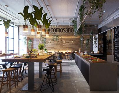 COMOSANO | fast food restaurant & fresh bar