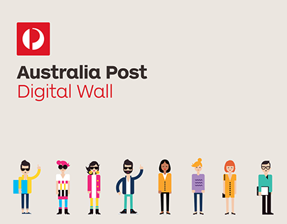Australia Post — Digital Wall