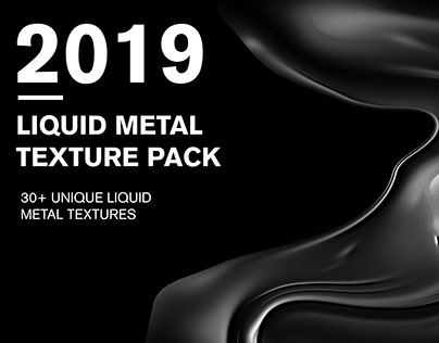 FREE Liquid Metal Texture Pack
