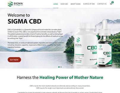 CBD Supplements Website