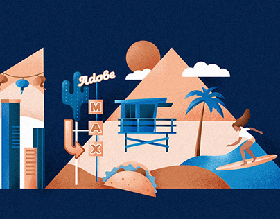 Illustrations for Adobe 2018