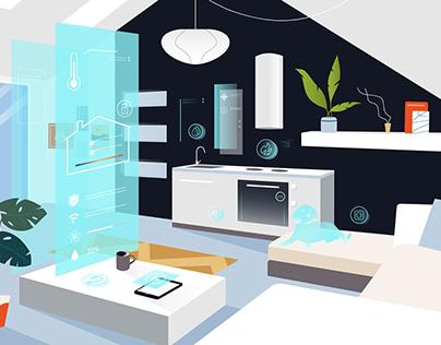 Illustrations for Rostelecom