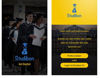 Studibon Mobile App Design