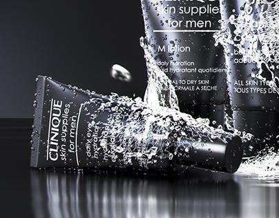 """""""Clinique"""" skin supplies"""