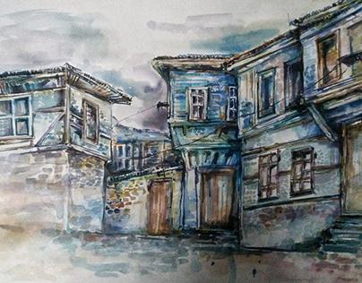 Renkli Çalışmalar ve The Small Montmarte of Bitola