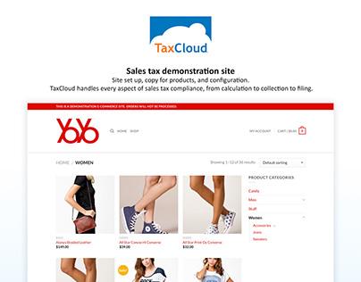 TaxCloud demo site