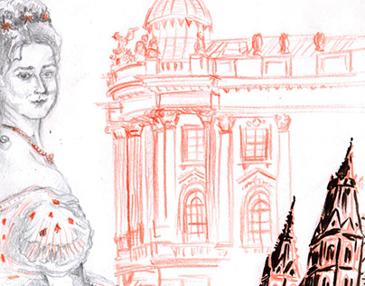 Wien - Travel sketchbook