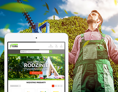 GardenFlora / e-commerce web & mobile design