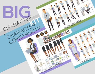 Big Character Constructor Kit
