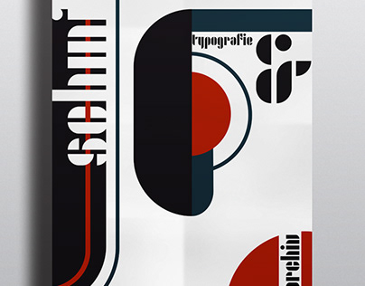 "Poster for Bauhaus Typography ""Joschmi"""