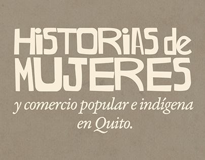 Historias de Mujeres y Comercio Popular e Indígena
