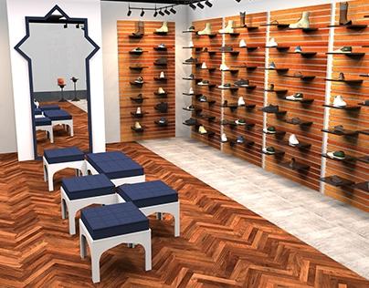Casiva Shoe Store | Multifunctional Space Design