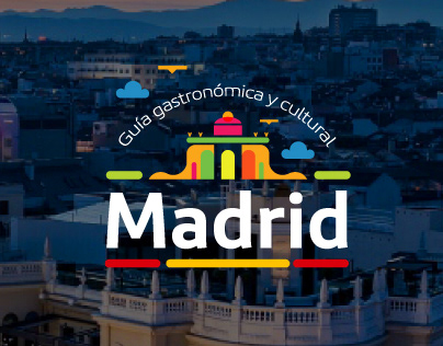Mockups: Madrid tourist guide by Iberia