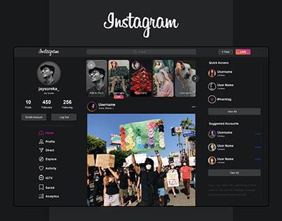 Instagram   Website Design