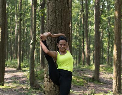 Outdoor Yoga Portraits