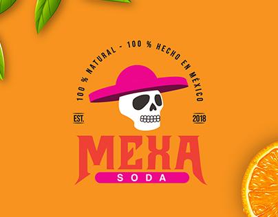 Mexa Soda Identity