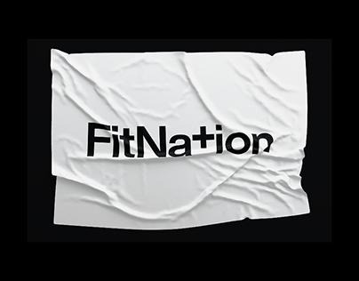 FitNation — Brand Identity + Website