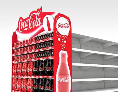 Coca-Cola // Gondola End