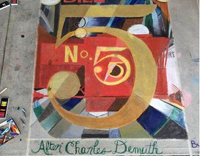 Chalk Art and Murals