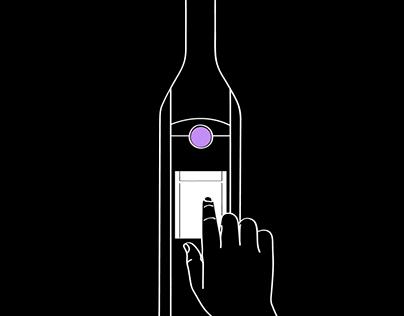 Kuvée smart bottle app