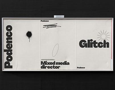 Podenco. Mixed media director brand design