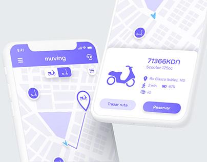 Muving app | UX/UI Design