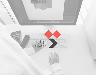 هوية شركة توارَد | مشروع التخرج