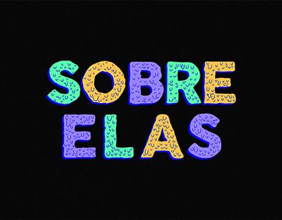 SOBRE ELAS | Logotipo 2015
