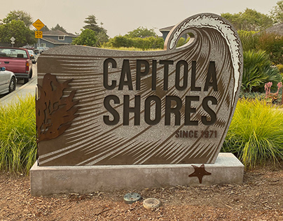 Capitola Shores Monument Sign