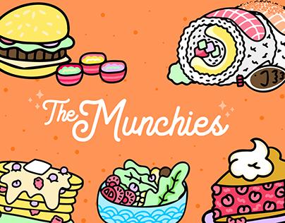 Blush.design illustration pack. The Munchies.