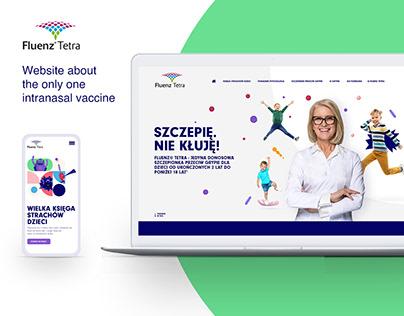 Fluenz Tetra website