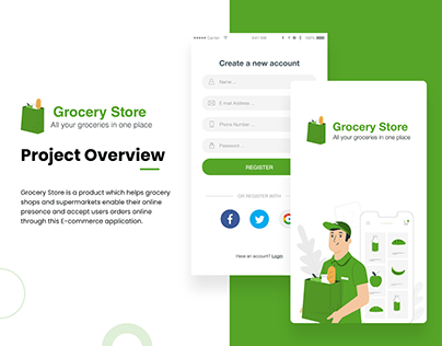 Grocery Store Mobile Application