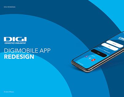 DigiRomania Redesign App